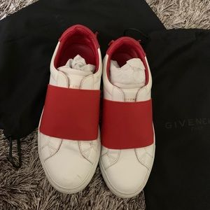 Givenchy elasticated strap sneakers